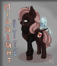 Pony OC: Midnight Byte by TheFredricus