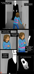 QuantumTale - Prologue: The Statue pg2 by FoxyPheonix