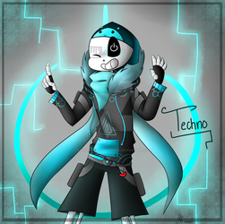 Techno! .:Gift:. by KrystaliaProductions