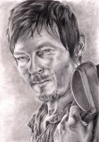 Daryl Dixon by Z-ompire