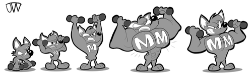 Muscle to Mega Muscle by JoeyWaggoner