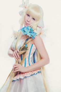 Chii Chobits Cosplay ~ Artbook Your Eyes Only by K-I-M-I