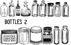 Bottles 2 by TheSarcophagusRoom