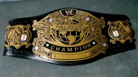 WWE UNDISPUTED CHAMPIONSHIP by imranbecks