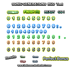Sonic Generations HUD Text (WIP) by Kainoso