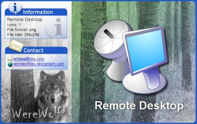 Windows XP Remote Desktop by werewolfdev