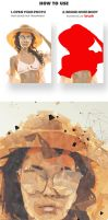 Geometric Polygon Photoshop Action by GraphicAssets