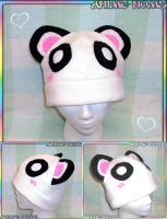 Commissioned Panda Hat by AnimeNomNoms