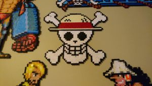 One Piece Picture #10. Straw Hat Jolly Roger v1 by MagicPearls