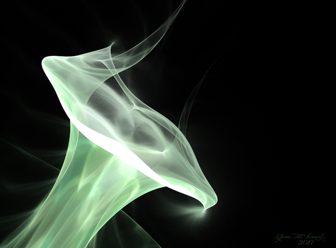 Ethereal Calla Lily by Annushkka