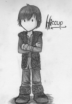 Little Hiccup by ZelleonHex