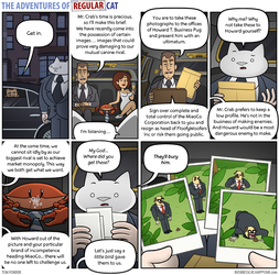 The Adventures of Regular Cat - Deus Ex Crabina by tomfonder