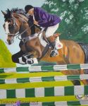 Show jumper by goldenpaw