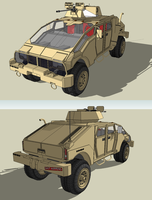 Assault Vehicle by MSgtHaas