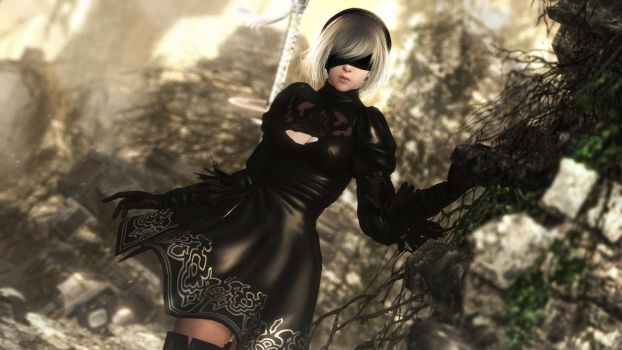 Nier by sculp2