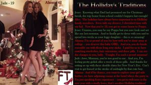 The Holliday's Traditions by AnnabelleRavenFT