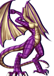 Nova's dragon transformation (PNG) by 8eternal-paradox8