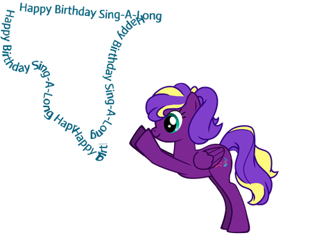 Happy birthday Sing-A-Long by blinkwave