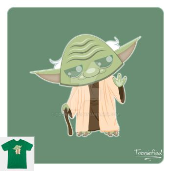 Yoda by Tooniefied