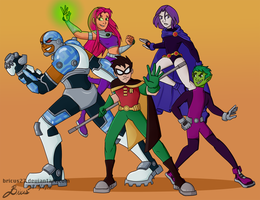 Titans, GO! by Bricus27