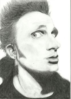 Mike Dirnt - Green Day by lonkam