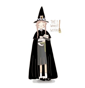 The Worst Witch by kaze9th