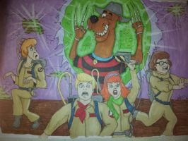 Ghostbusters Inc: The curse of Freddy Doo-ger by Tazz13666