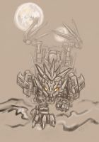 Liger Zero Falcon by pointytilly