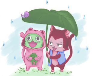 Frosch and Lector by Kelevrak