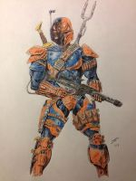 Deathstroke the Mandalorian by coyote117