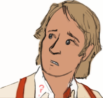 The 5th Doctor Coloured by jhguitarfreak