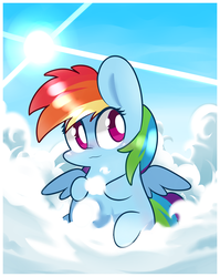 Rainbow dash by MACKINN7
