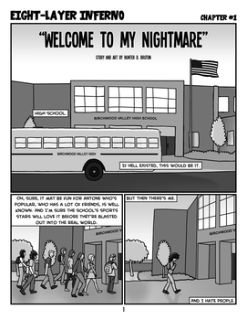 Welcome to My Nightmare - Page 1 by The-Happy-Spaceman