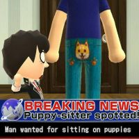 Miifoto #11 - News Flash by MarioMinecraftMix