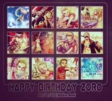 Zoro's Birthday by NakaAmi8393