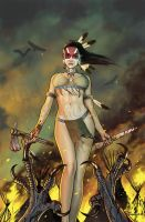 Dark Shaman- Zenescope cover by ted1air