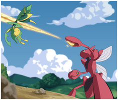 Scizor Vs Leavanny