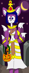 Kitsuneopatra the Egyptian Princess (Halloween) by teamlpsandacnl