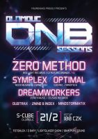 Olomouc DNB Sessions #01 flyer by 2NiNe