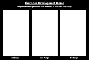 Character Development Meme Template by Infinity-Drawings