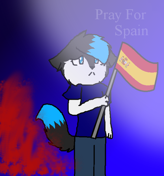 Pray For Spain by Mayahzdog09