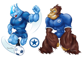 Atromitos FC mascot proposals by antonist