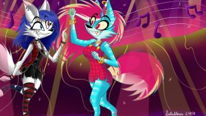Dance Party-Commission by SisterStories