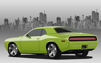 Challenger Back by pisula