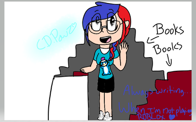 Random ROBLOX player drawing by CookieDrawzPawz