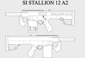 SI Stallion 12 A2 by Sapphire-industries