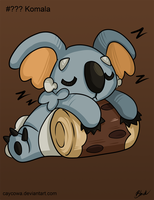 Pokemon Sun and Moon - Komala