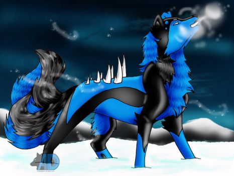 Demonwolf type: Ice by arabdiggaren