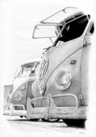 VW buses by Boss429