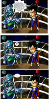 DBM Minicomic Contest: Raichi U3 vs Vegeta U13 by kibasennin